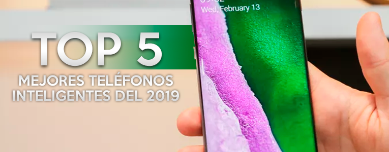 Top 5 los mejores teléfonos inteligentes (2019)