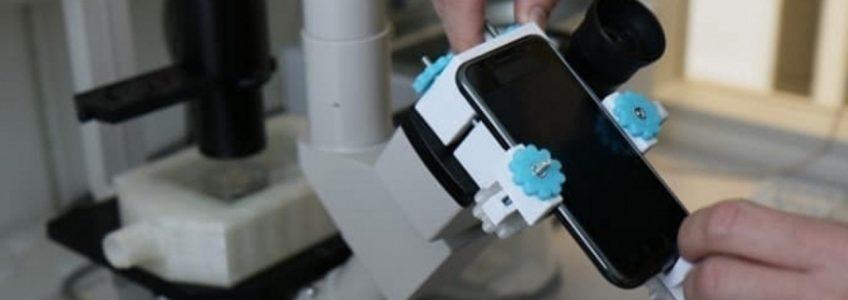 Smartphones y un poco de impresión 3D para grabar vídeos de células vivas