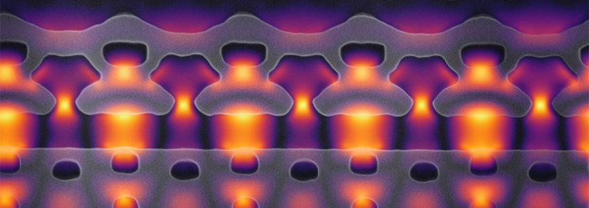Crean un potente acelerador de partículas en un microchip de silicio