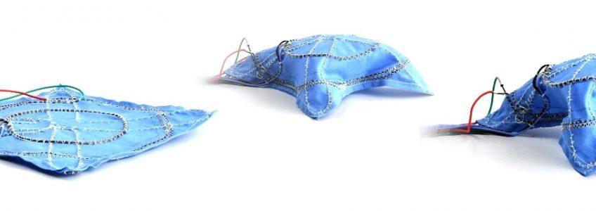 Un nuevo tejido robótico desafía la creatividad humana • Tendencias21